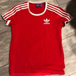 Adidas Red T